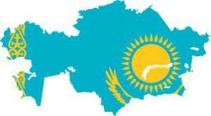 Flag KAZ
